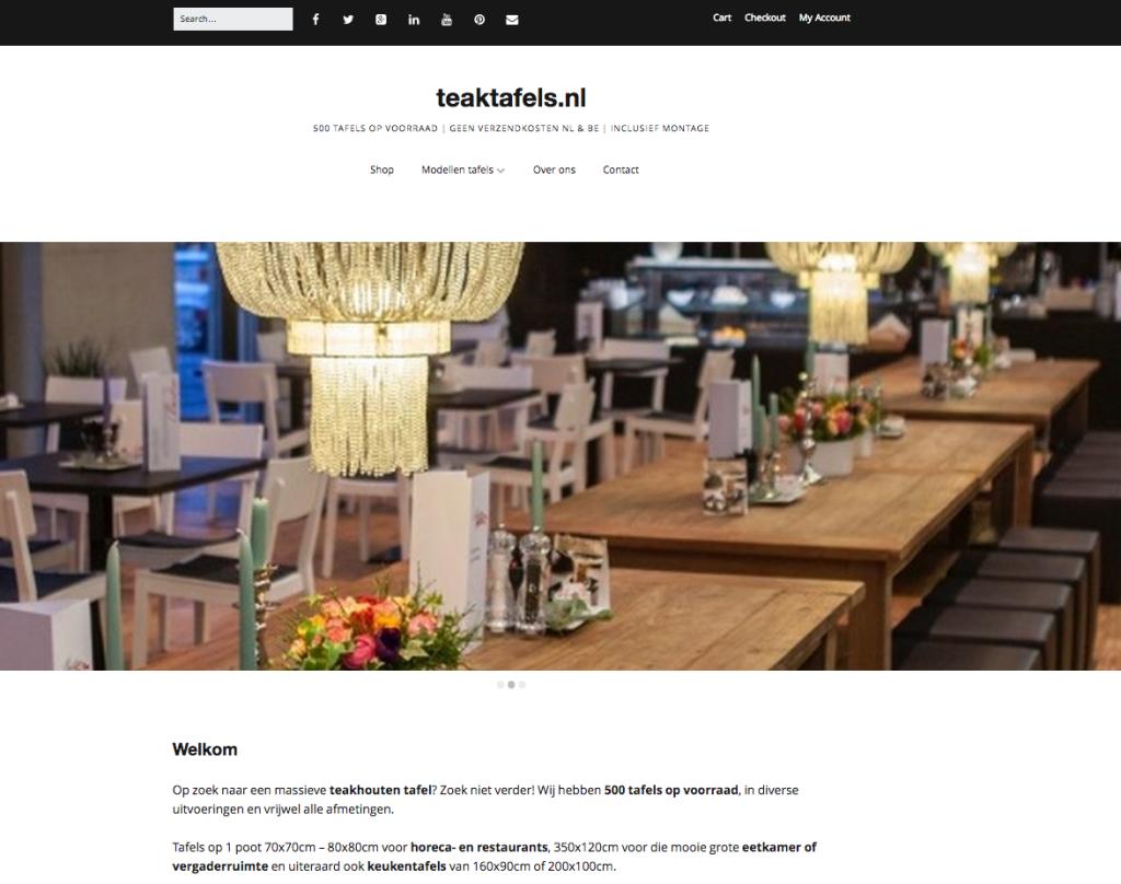 Teaktafels.nl